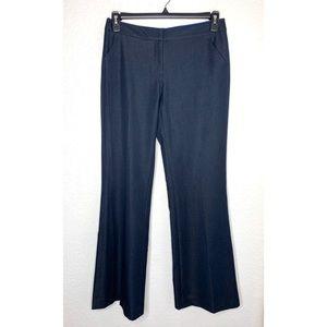 T Tahari Navy Wide Leg size 6 Career Dressy Pants